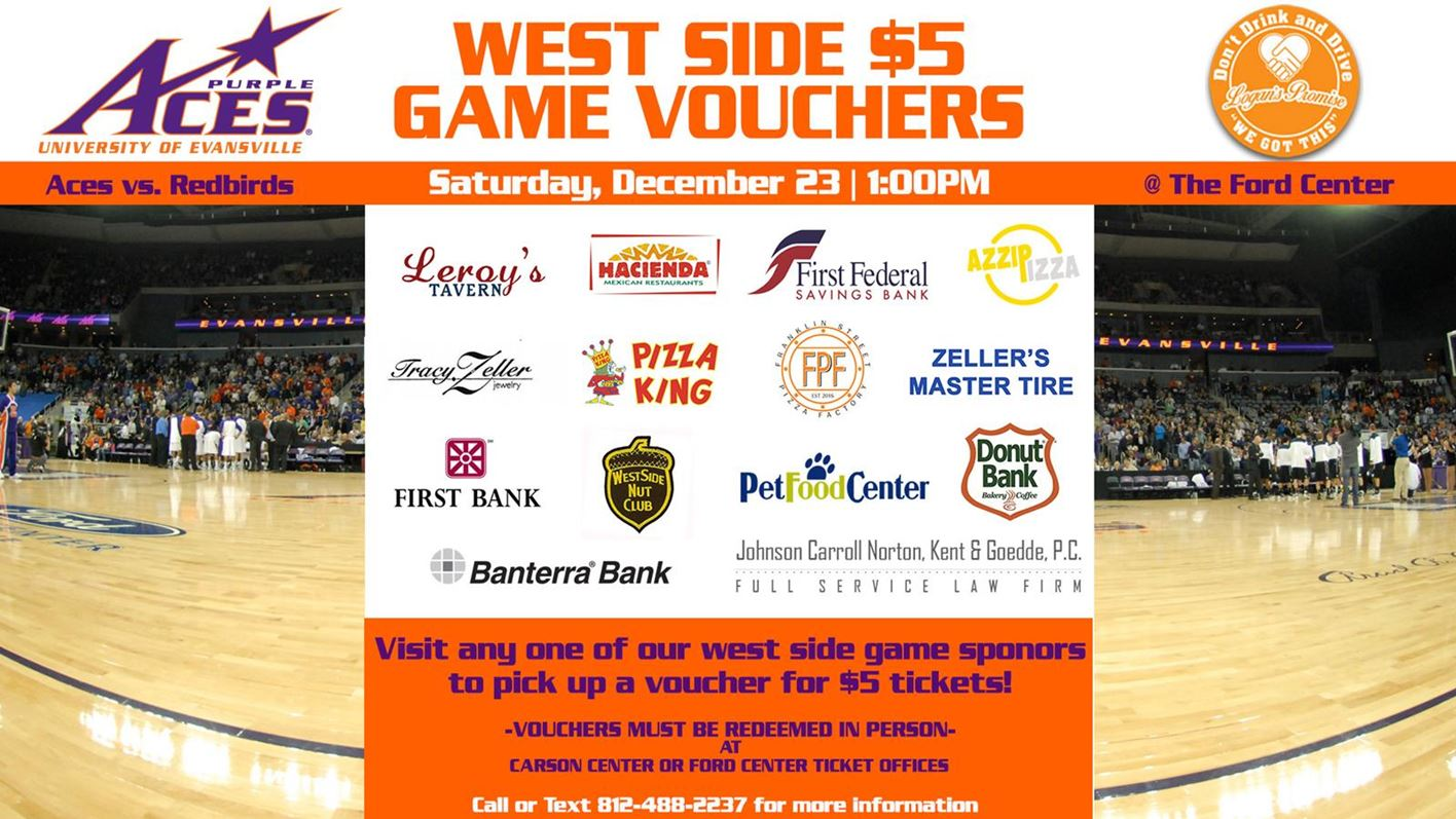 West Side Game set for Dec  23 at Ford Center - University
